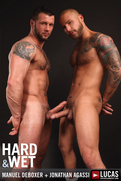Naked photos from gay movie HARD & WET