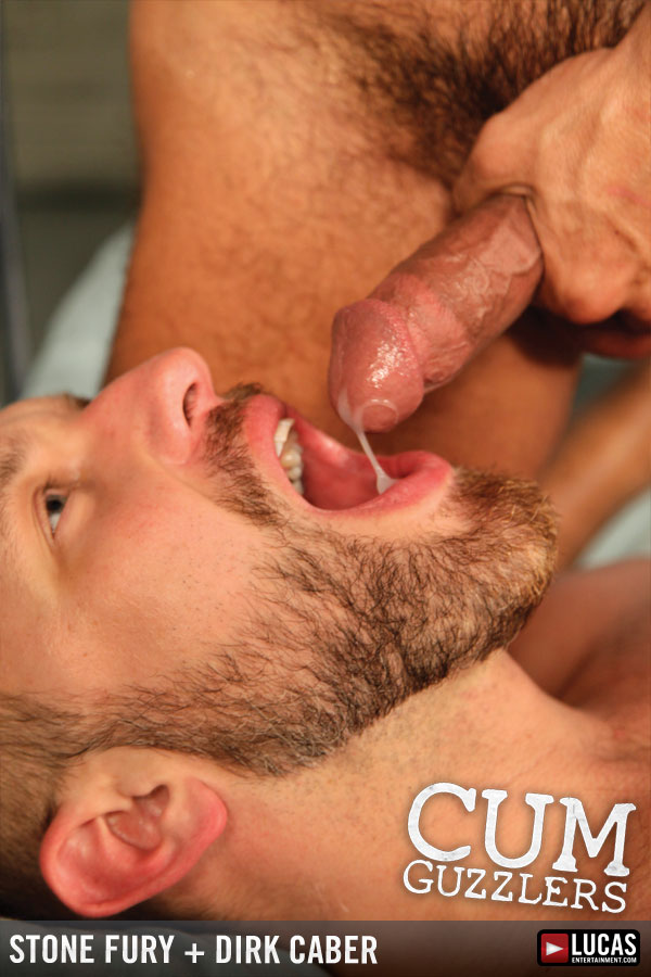 CUM GUZZLERS - Gay Movies - Lucas Raunch