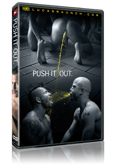 Poster of gay porn movie Push It Out