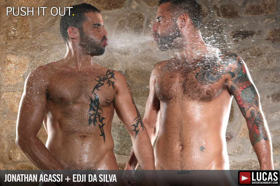 Naked photos from gay movie Push It Out