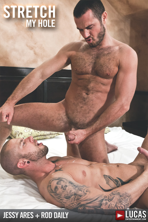 Naked photos from gay movie Stretch My Hole