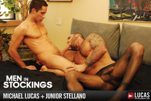 Men In Stockings - Gay Movies - Lucas Raunch