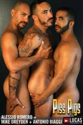 Naked photos from gay movie Piss Pigs