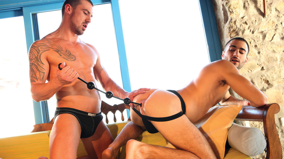 Will Helm Bottoms for Marco Sessions Anal Toys