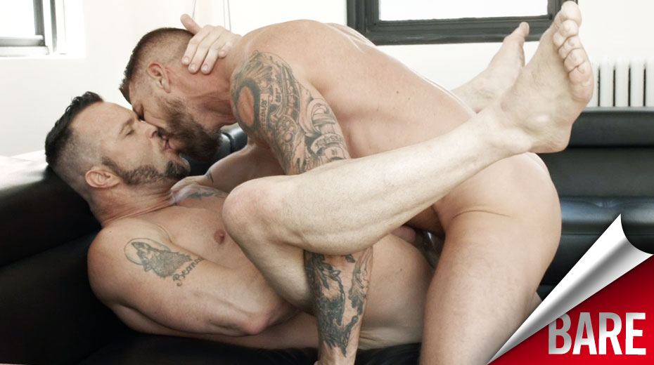Rocco Steele and Drew Sumrok | Rough Raw Fucking and Armpit Worship