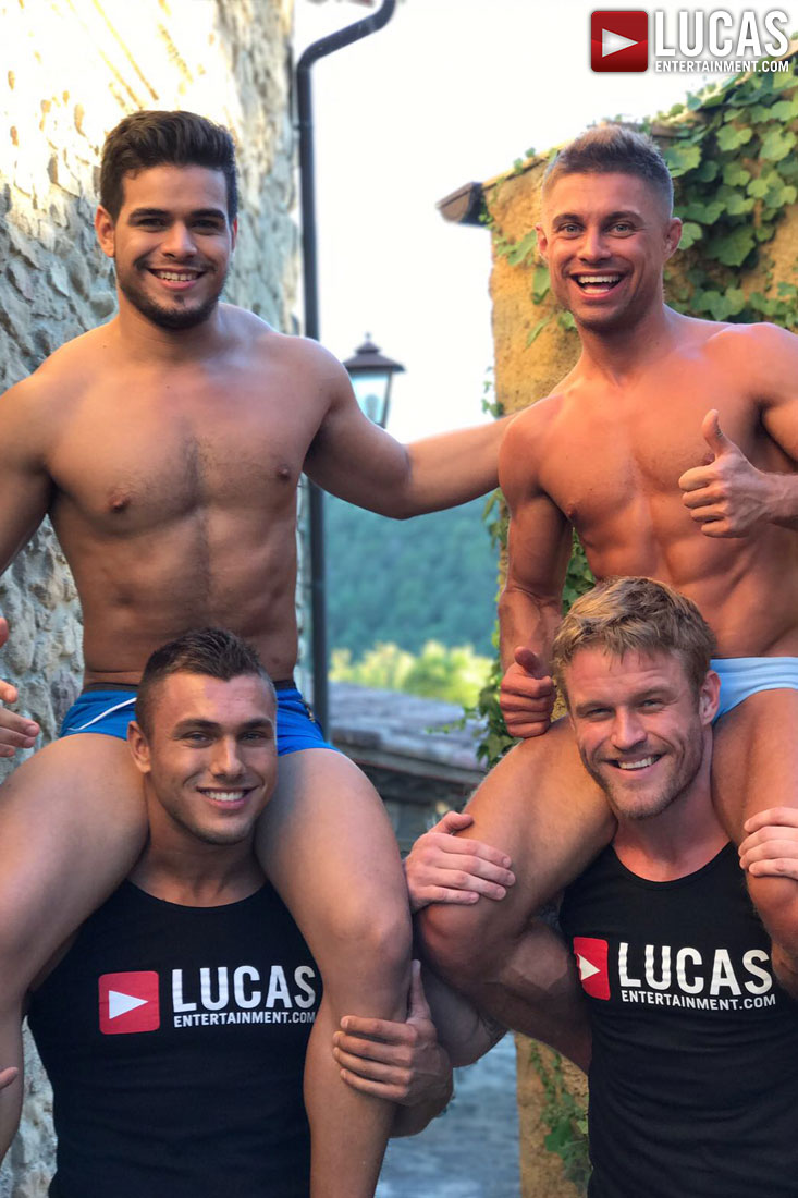 Brock Magnus - Gay Model - Lucas Raunch