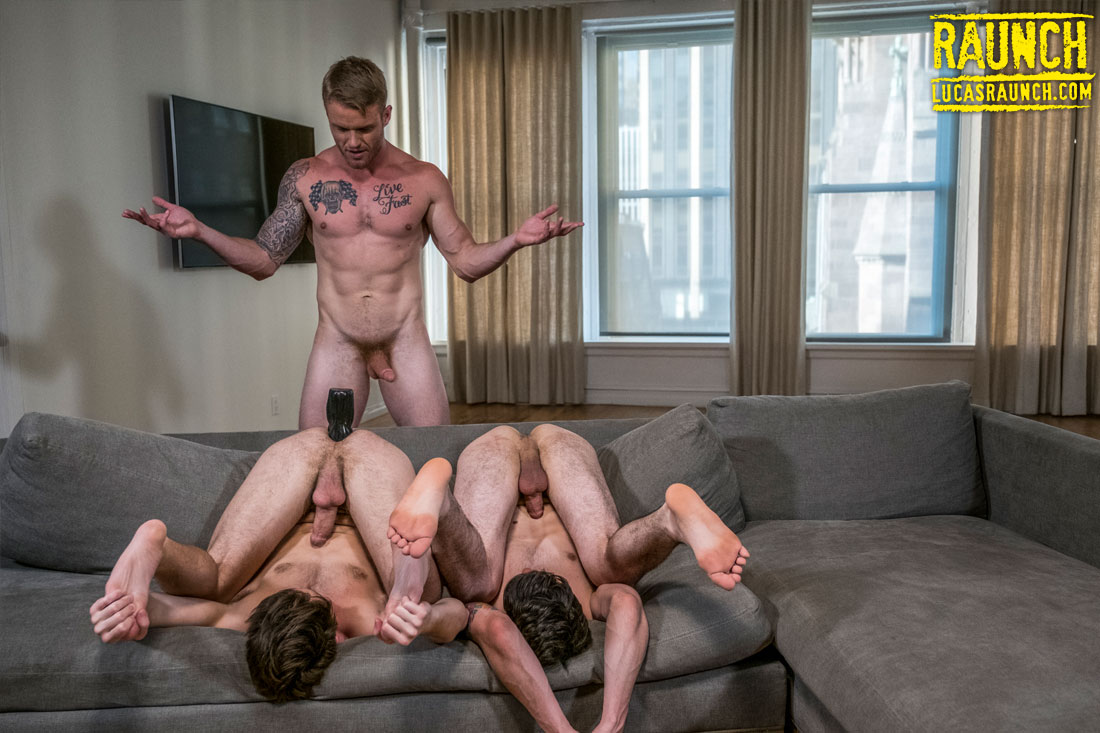 Devin Franco, Shawn Reeve, Dakota Payne | Dildo Ass Stretching - Gay Movies - Lucas Entertainment