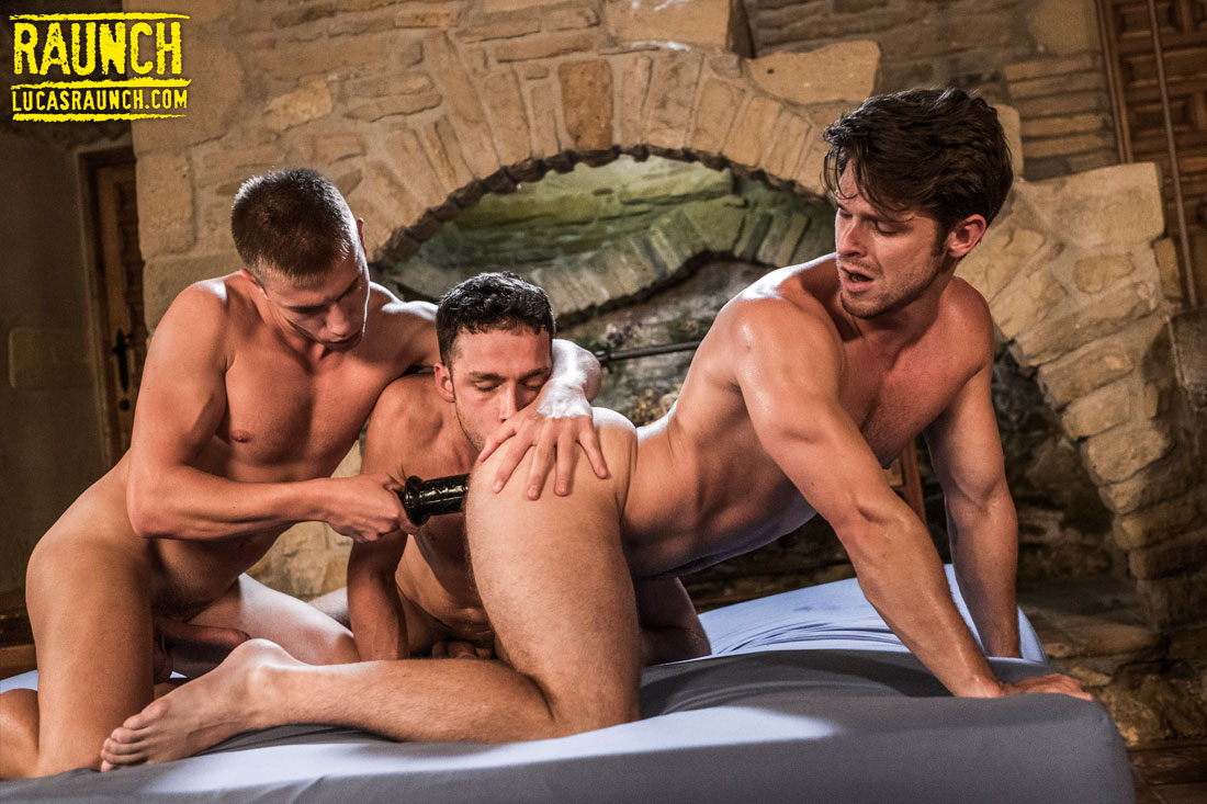 Devin Franco, Damon Heart, Bogdan Gromov | Boys And Adult Toys - Gay Movies - Lucas Entertainment