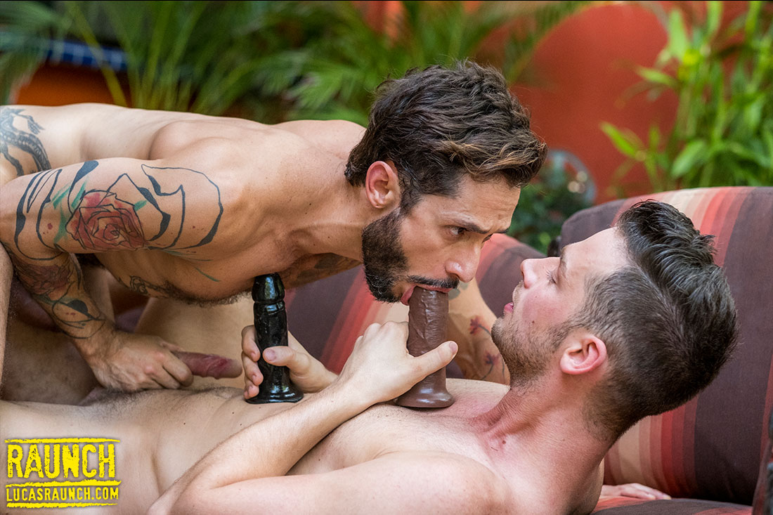 Damon Heart Fucks Rod Fogo With Dildos And Adult Toys - Gay Movies - Lucas Entertainment