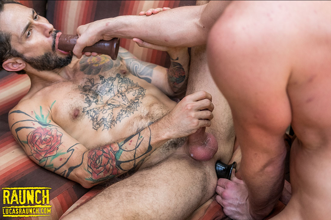 Damon Heart Fucks Rod Fogo With Dildos And Adult Toys - Gay Movies - Lucas Entertainment