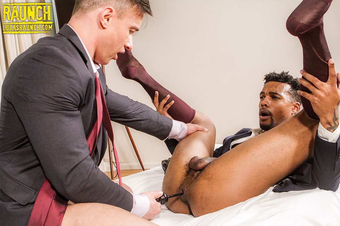 Alexander Volkov, Jacen Zhu | Anal Beads In Suits - Gay Movies - Lucas Entertainment