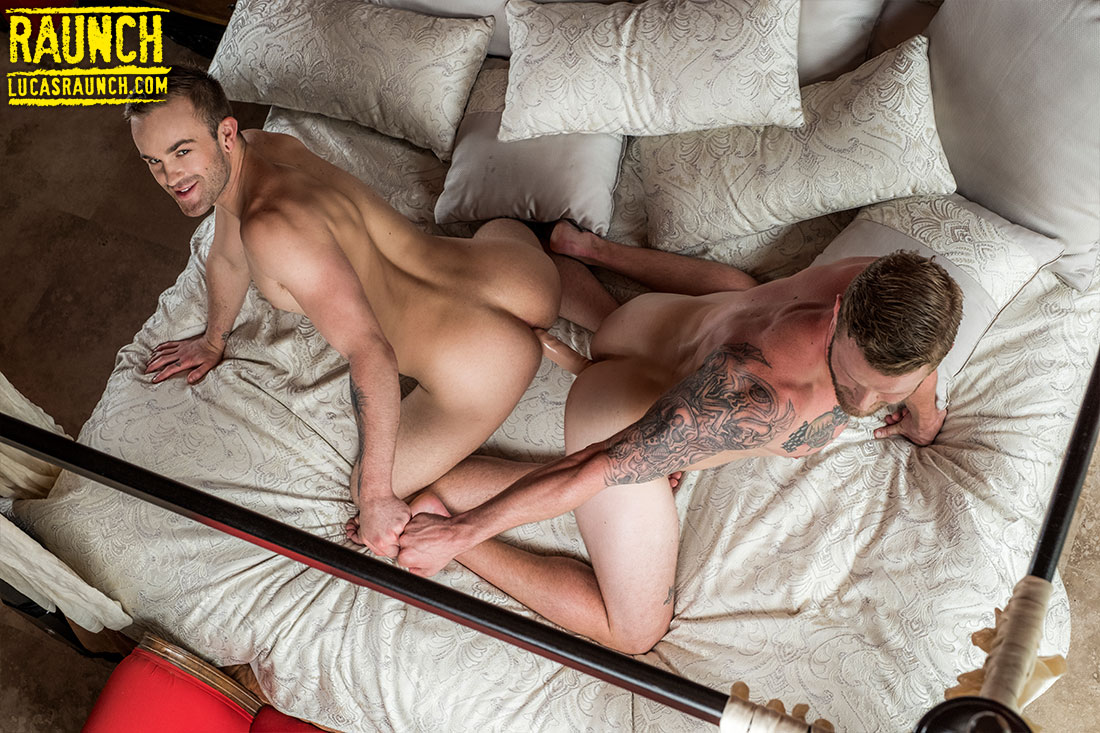 Shawn Reeve And Jackson Radiz Ride A Double-Headed Dildo - Gay Movies - Lucas Entertainment