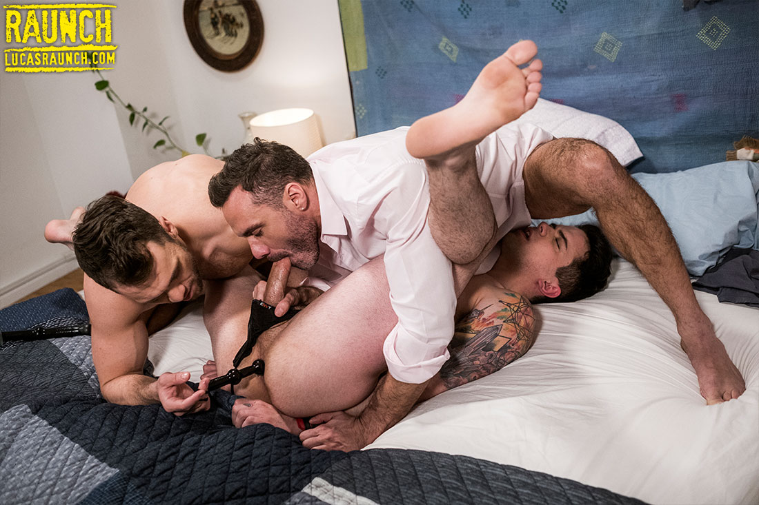 Manuel Skye And Blaze Austin Tie Up And Invade Dakota Payne With Sex Toys - Gay Movies - Lucas Entertainment