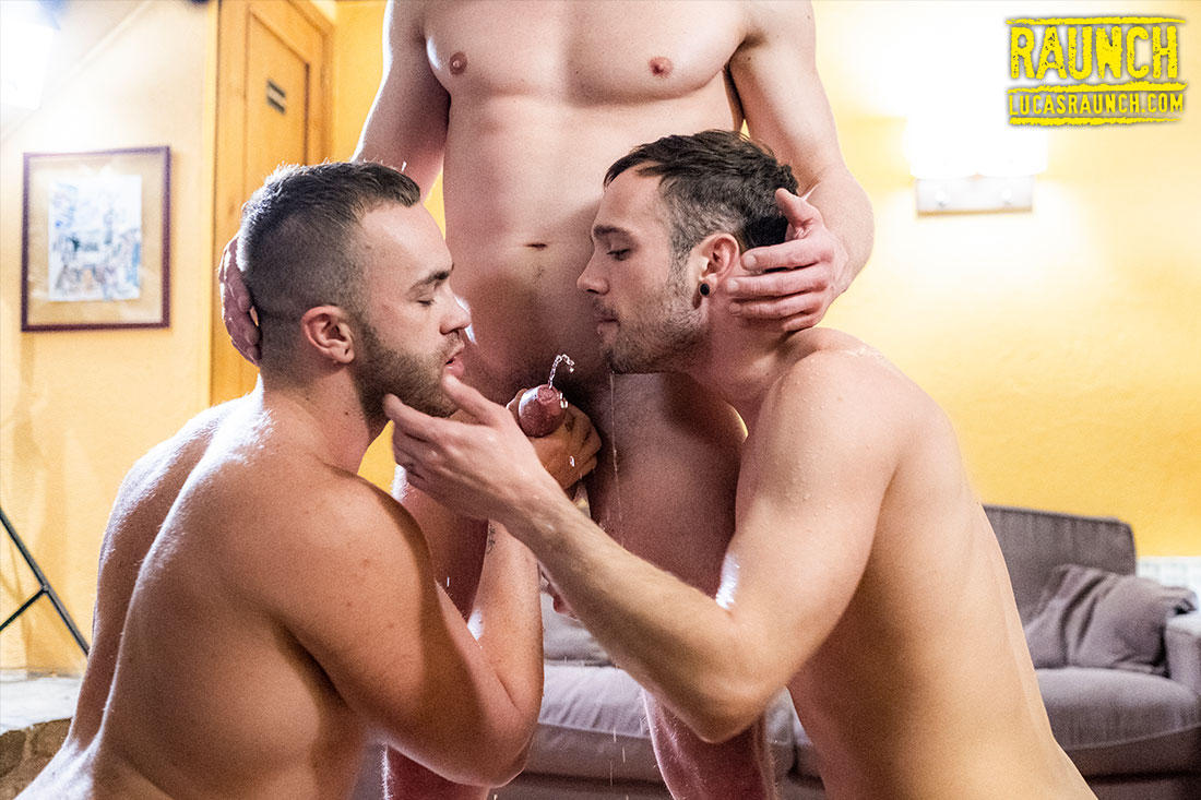 Andrey Vic, Jackson Radiz, Drake Rogers | Piss Play - Gay Movies - Lucas Entertainment