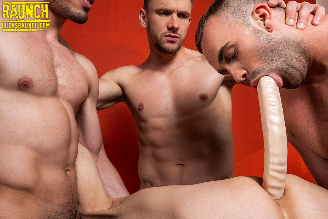 Anal Toys | Ruslan Angelo, Jackson Radiz, Andrey Vic, Ashton Labruce - Gay Movies - Lucas Entertainment
