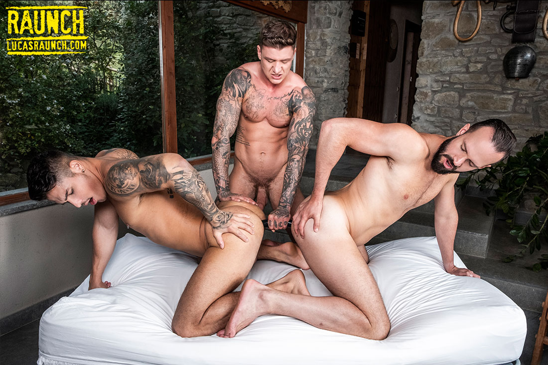 Geordie Jackson, Apolo Fire, Andy Onassis | Gay Sex Toy Submission - Gay Movies - Lucas Entertainment