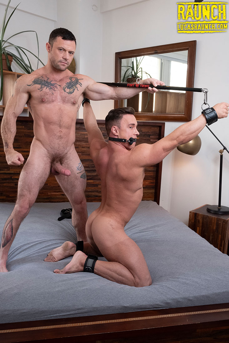 Submission, Bondage, And Dildo Anal Play | Sergeant Miles, Alexander Volkov - Gay Movies - Lucas Entertainment