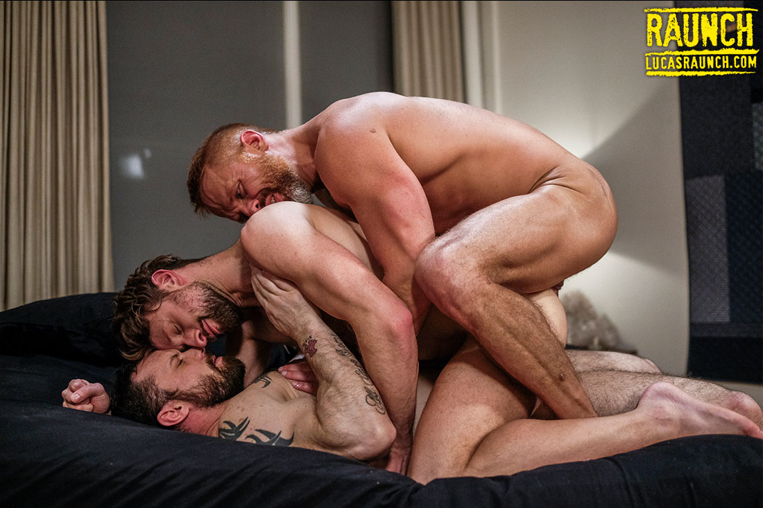 Double Penetration And Daddy Piss With Sergeant, Dirk, And Drew - Gay Movies - Lucas Entertainment