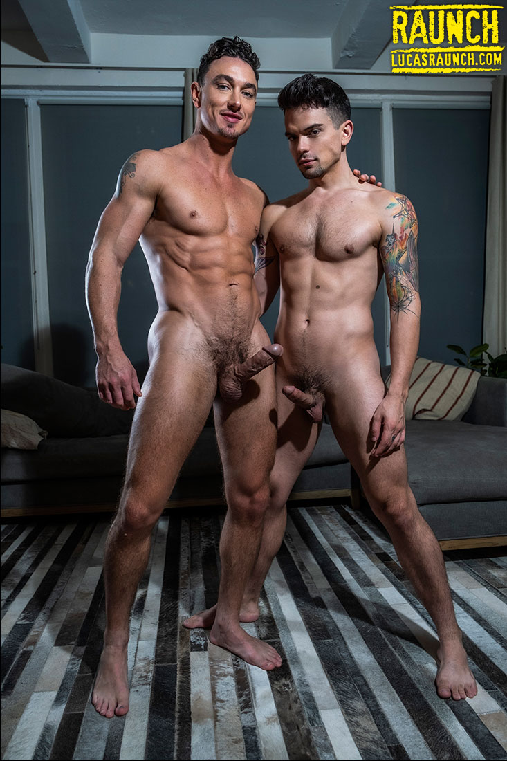 Cade Maddox Gags And Drills Dakota Payne With Toys - Gay Movies - Lucas Entertainment
