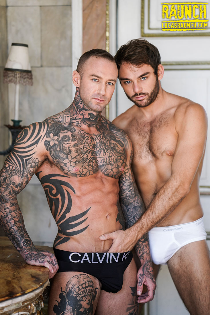 Dylan James, Max Adonis, And A Fuck Machine - Gay Movies - Lucas Entertainment