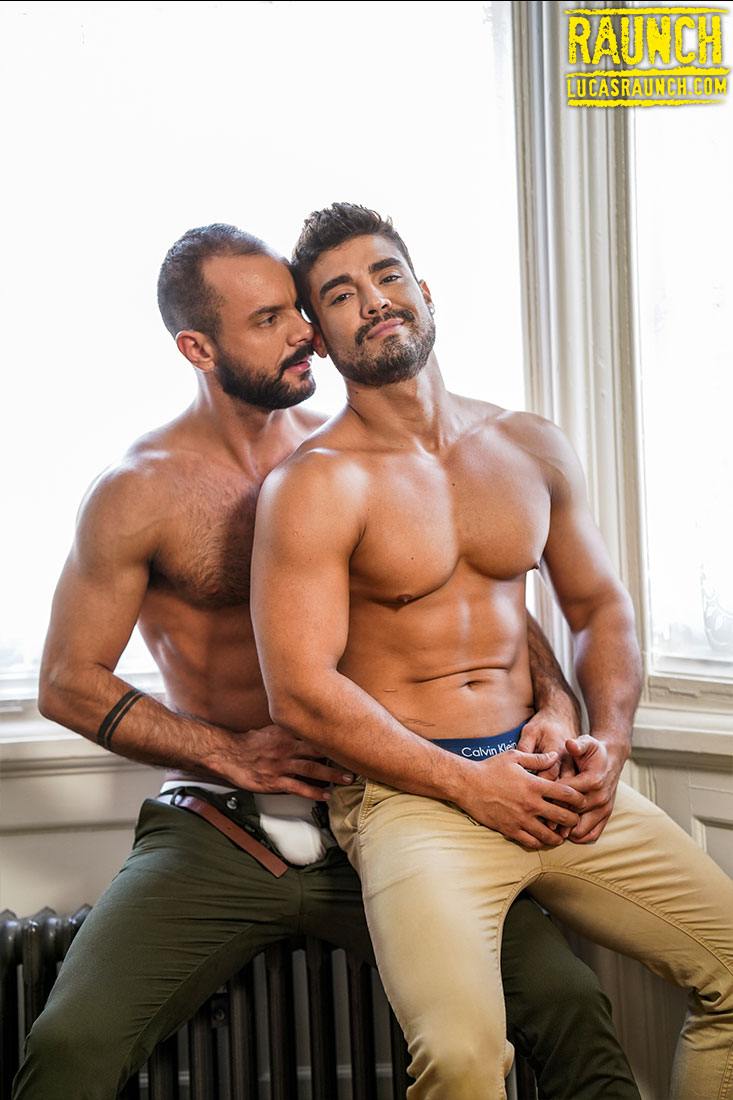 Sir Peter Plunges Into Dann Grey With Dick And Dildos - Gay Movies - Lucas Entertainment