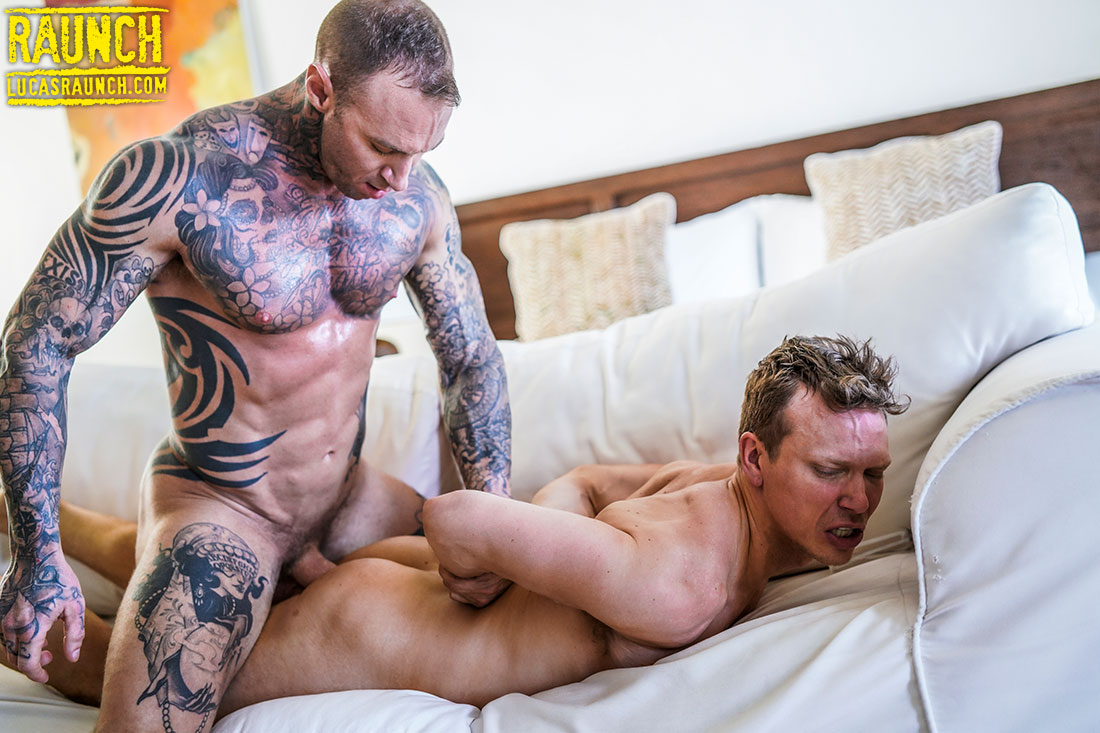 Dylan James Roughs Up Ethan Chase - Gay Movies - Lucas Entertainment