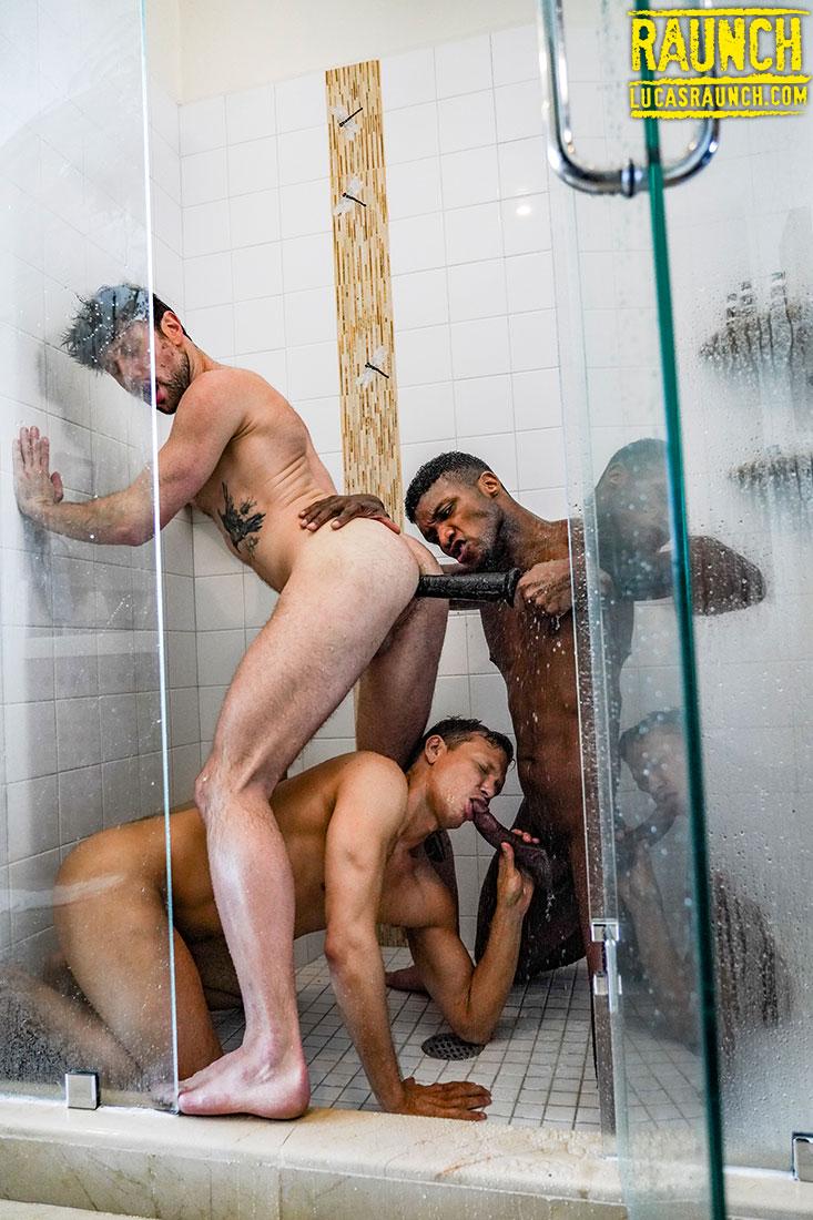 Andre Donovan, Ethan Chase, Drew Dixon   Piss & Double Penetration - Gay Movies - Lucas Entertainment