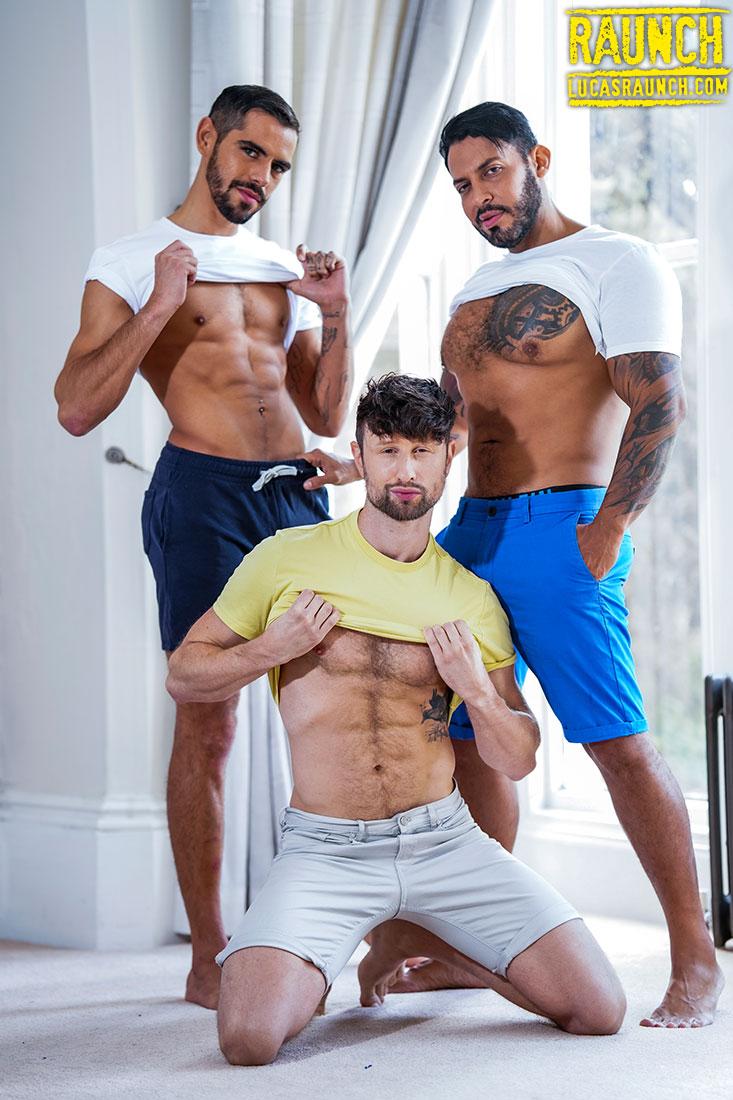 Viktor Rom, Valentin Amour, Drew Dixon | Pounded & Pissy - Gay Movies - Lucas Entertainment