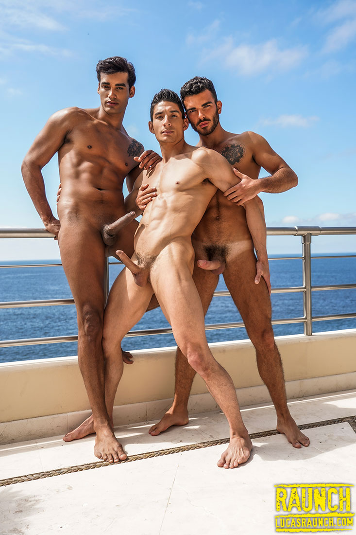 Marco Antonio And Pol Prince Fist And Double-Fuck Jim Fit - Gay Movies - Lucas Entertainment