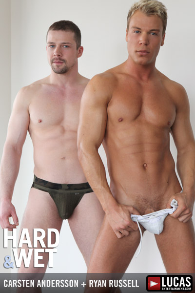 HARD & WET - Gay Movies - Lucas Raunch