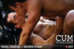 CUM GUZZLERS - Gay Movies - Lucas Raunch
