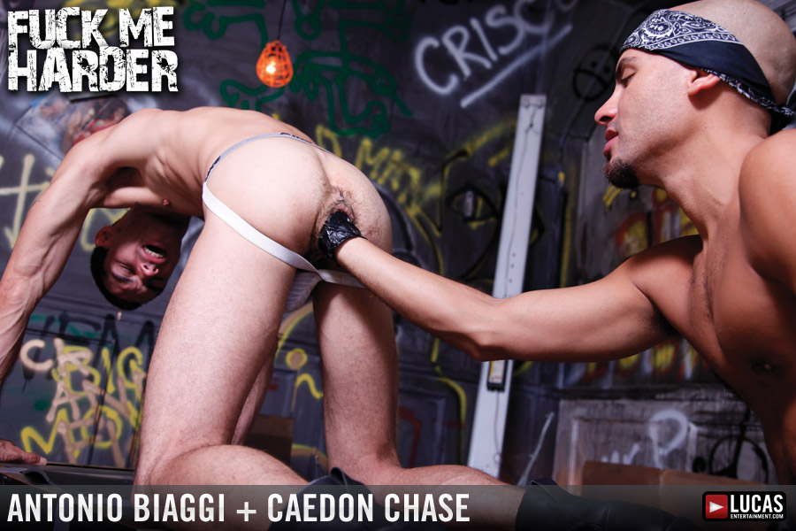 Fuck Me Harder - Gay Movies - Lucas Raunch