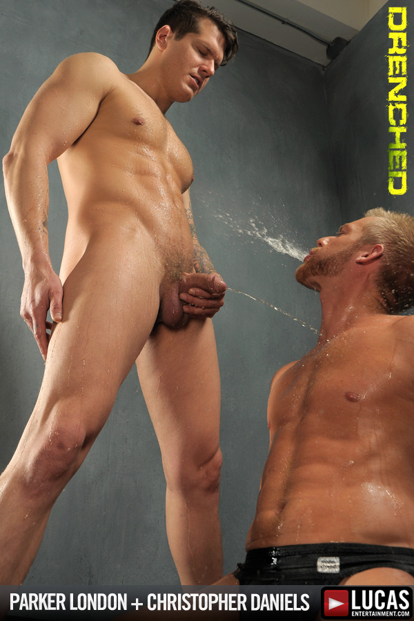 Parker London and Christopher Daniels Gag on Cock and Piss - Gay Movies - Lucas Entertainment