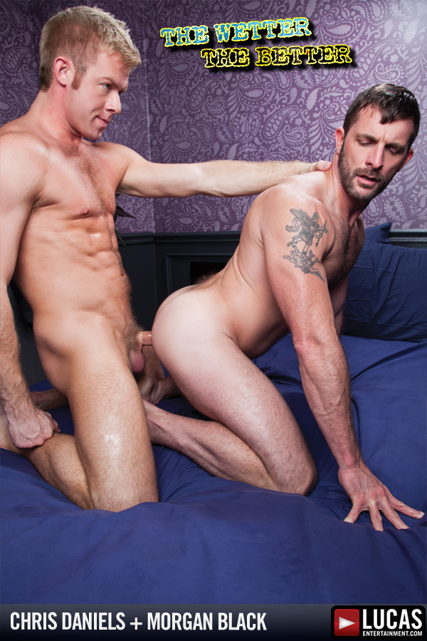 Christopher Daniels and Morgan Black Get Soaked - Gay Movies - Lucas Entertainment