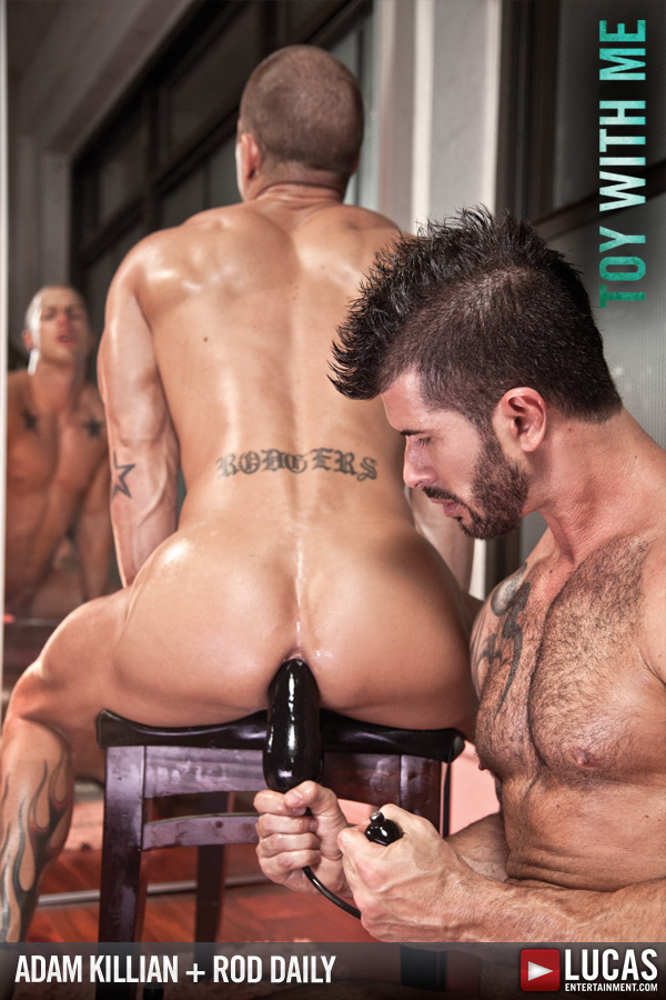 Adam Killian and Rod Daily Open Their Toy Chest - Gay Movies - Lucas Entertainment