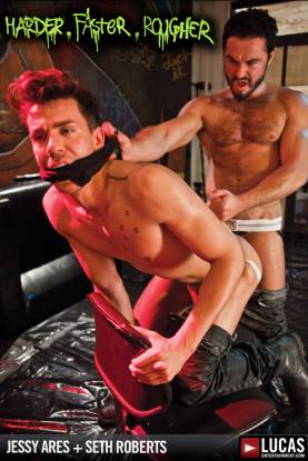 Harder Faster Rougher - Gay Movies - Lucas Raunch