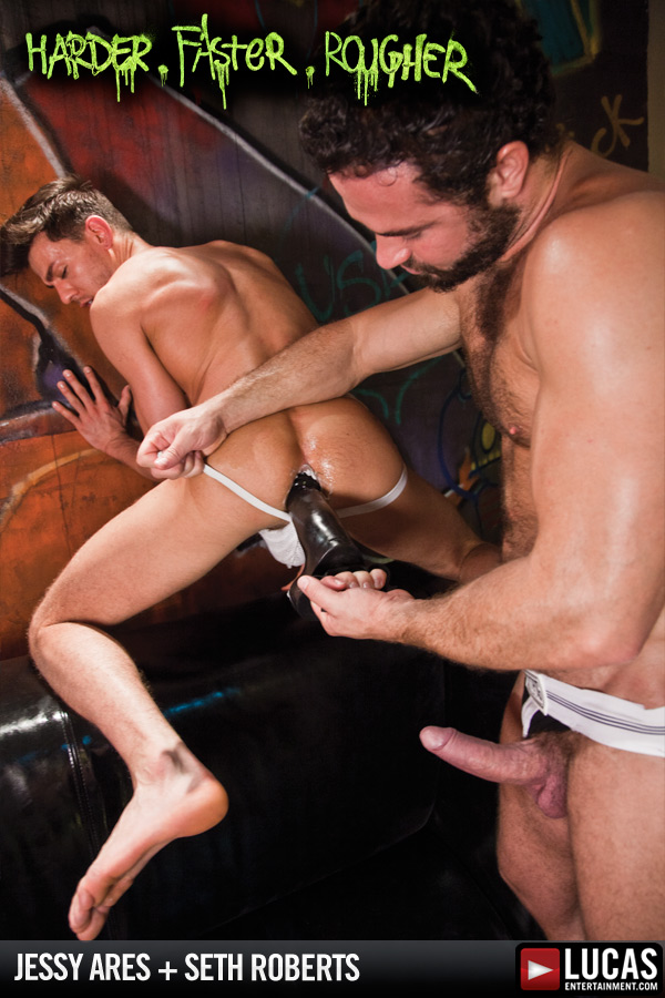 Jessy Ares Takes Control of Seth Roberts - Gay Movies - Lucas Entertainment