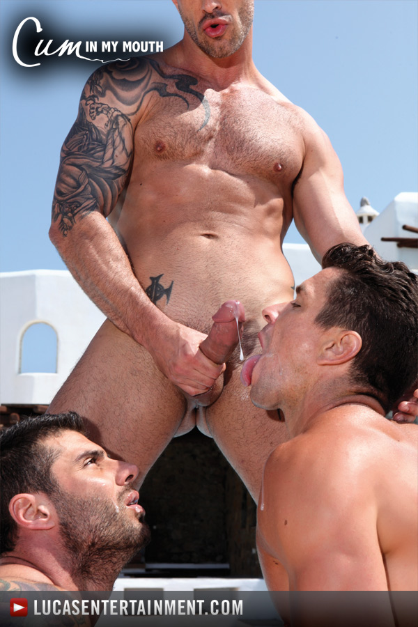 Cum in My Mouth - Gay Movies - Lucas Raunch