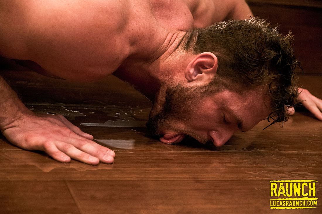 Soaked In Piss - Gay Movies - Lucas Raunch