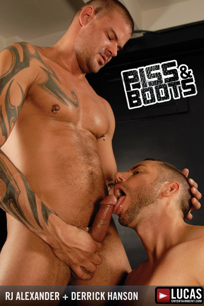Piss and Boots - Gay Movies - Lucas Raunch