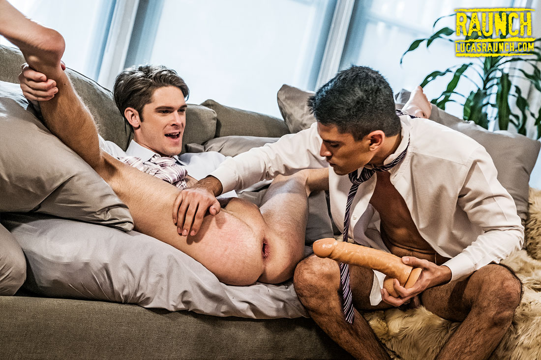 Devin Franco And Lee Santino Open Their Asses With Dildos - Gay Movies - Lucas Entertainment