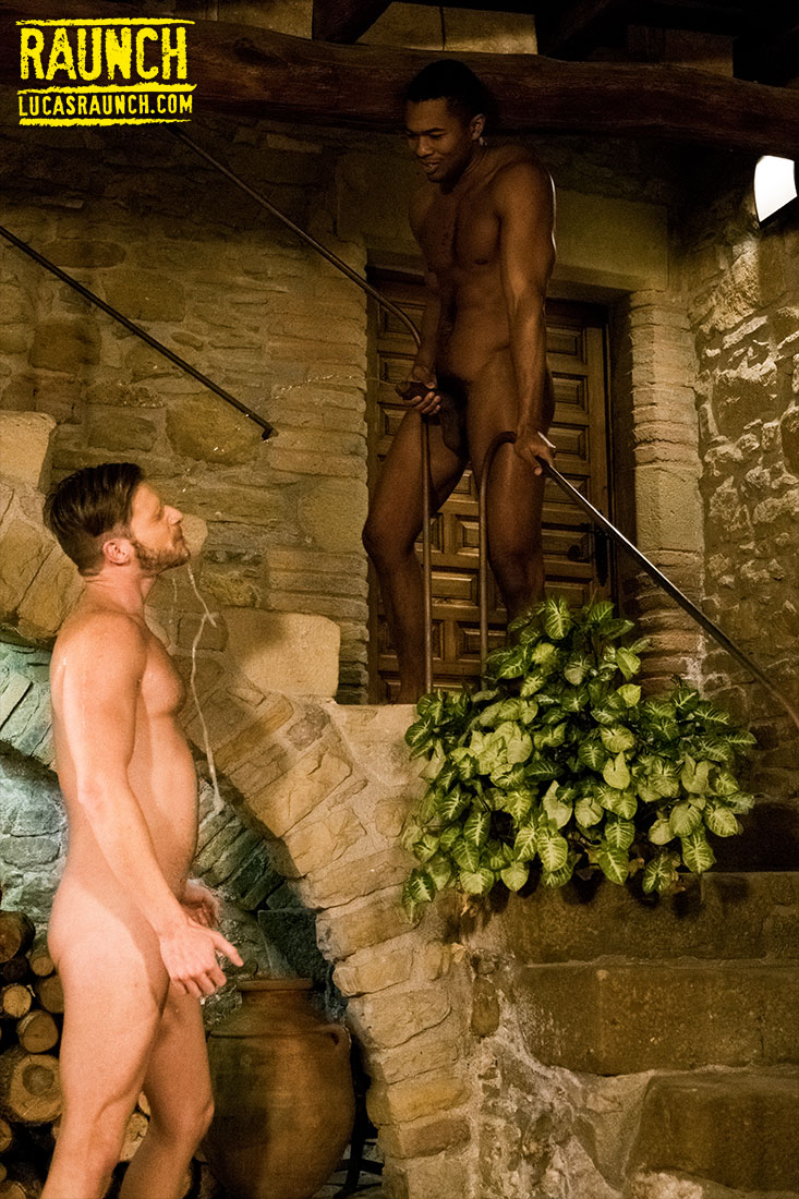 Brian Bonds Sucks Up Piss From Sean Xavier