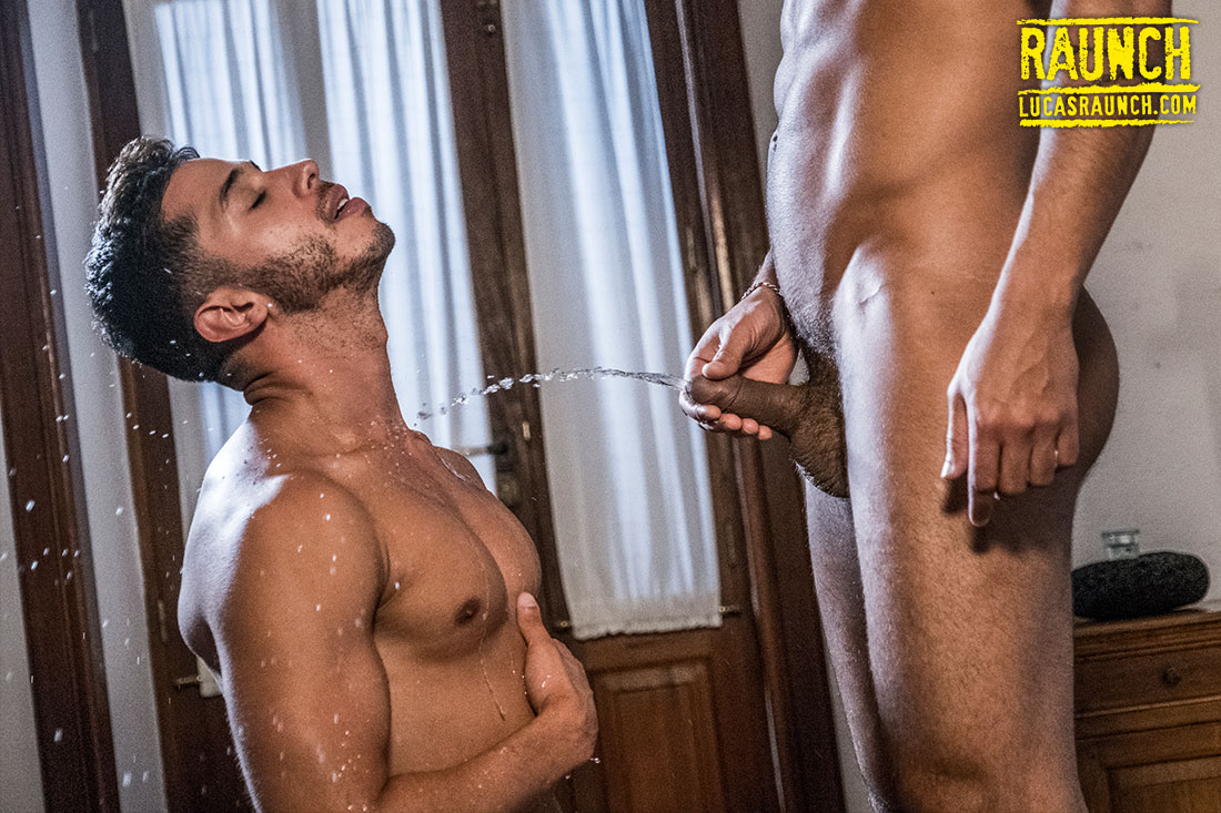 Drae Axtell Gives Lucas Fox A Golden Shower - Gay Movies - Lucas Entertainment