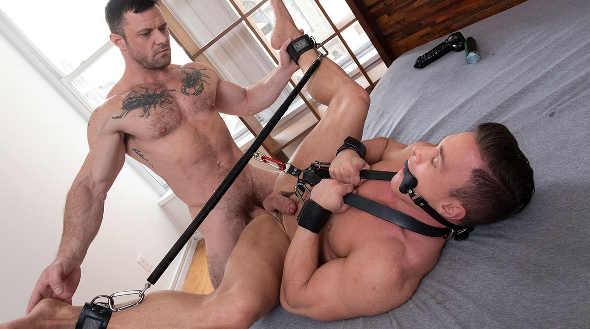 Submission, Bondage, And Dildo Anal Play | Sergeant Miles, Alexander Volkov