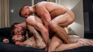 double-penetration-and-daddy-piss-with-sergeant,-dirk,-and-drew