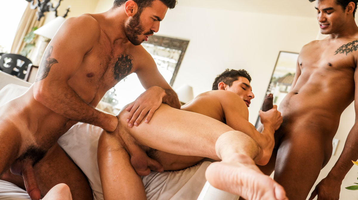 Marco Antonio And Pol Prince Fist And Double-Fuck Jim Fit